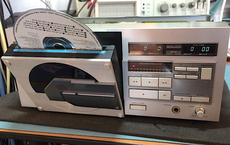 JVC XL V1 CD speler pagina maken