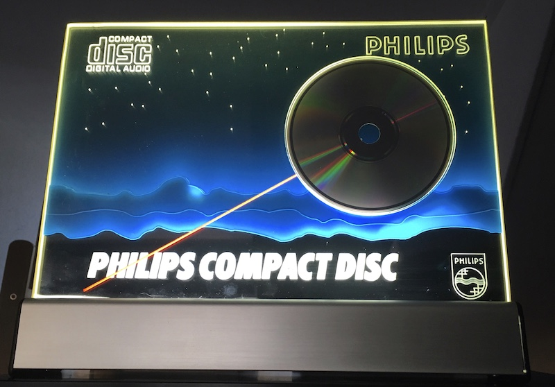 Philips Compact Disc Display